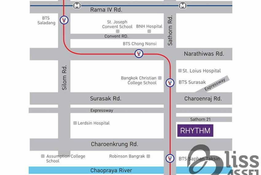 Condo For Rent Rhythm Sathorn 21-15