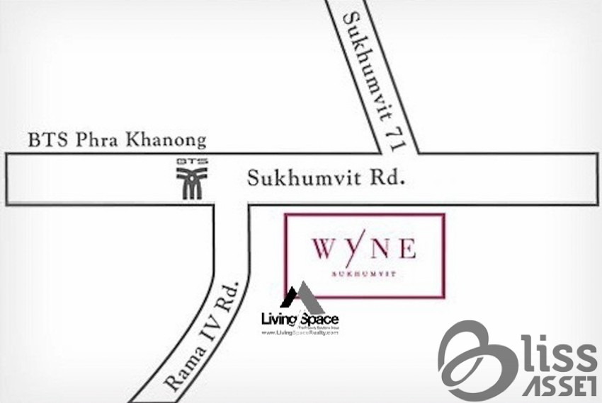 Condo For Rent Wyne Sukhumvit 71-10